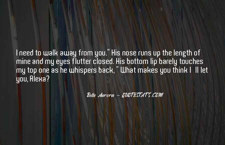Quotes About Whispers #27258