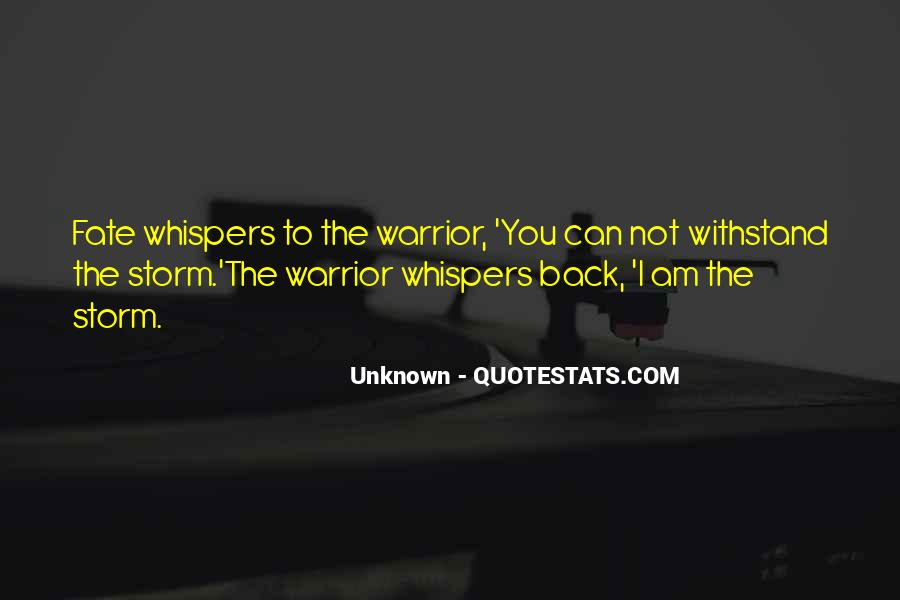 Quotes About Whispers #33215