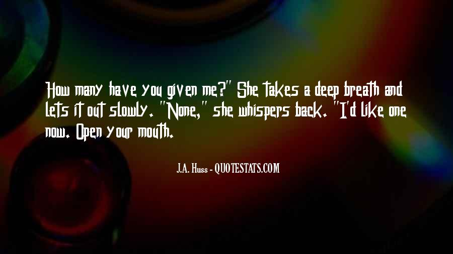 Quotes About Whispers #68168