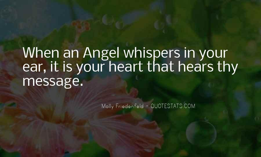 Quotes About Whispers #8958