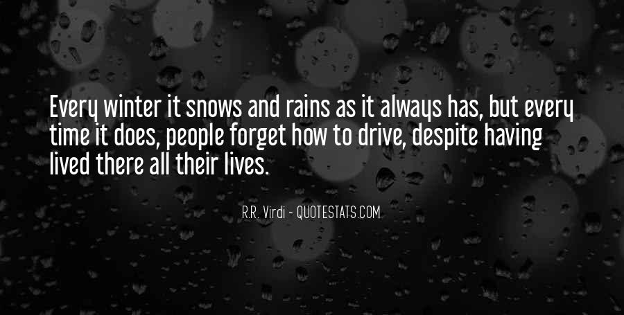 Quotes About Winter Rains #1669932