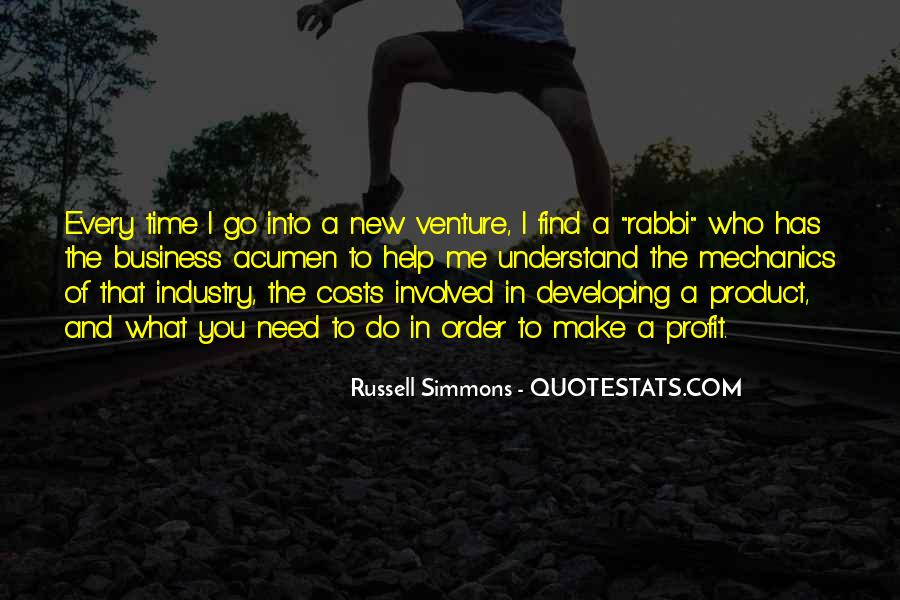 Quotes About New Ventures #246751