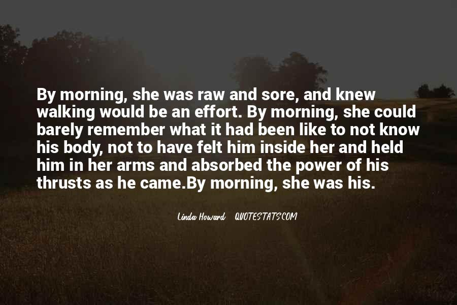 Quotes About Sore Body #1157997