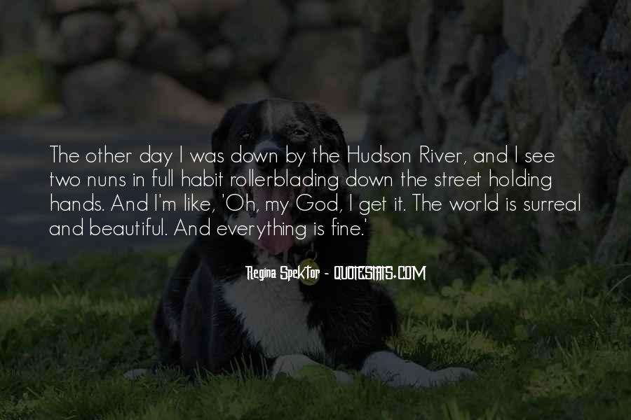Quotes About The Hudson River #42336