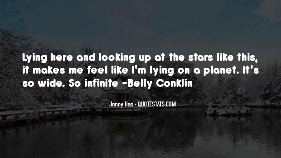 Quotes About Lying Under The Stars #180058