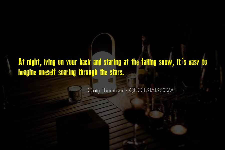 Quotes About Lying Under The Stars #1849249