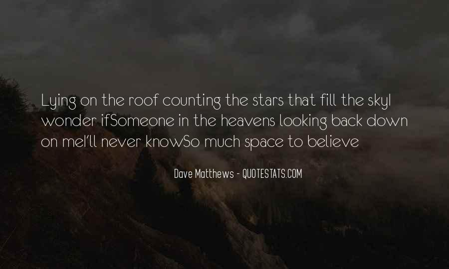 Quotes About Lying Under The Stars #484528