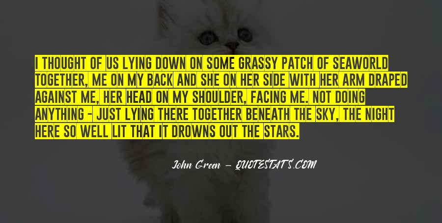 Quotes About Lying Under The Stars #797945