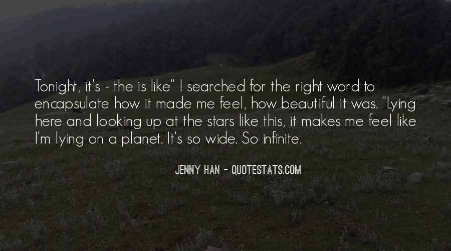 Quotes About Lying Under The Stars #976242