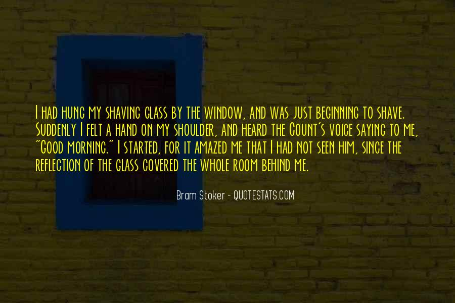 Quotes About Window Reflection #238536