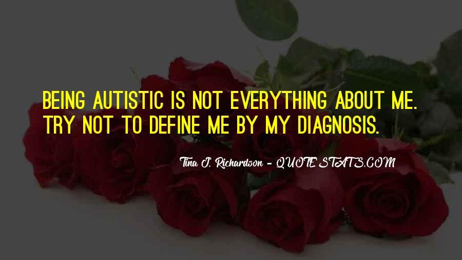 Quotes About Autism Diagnosis #392055