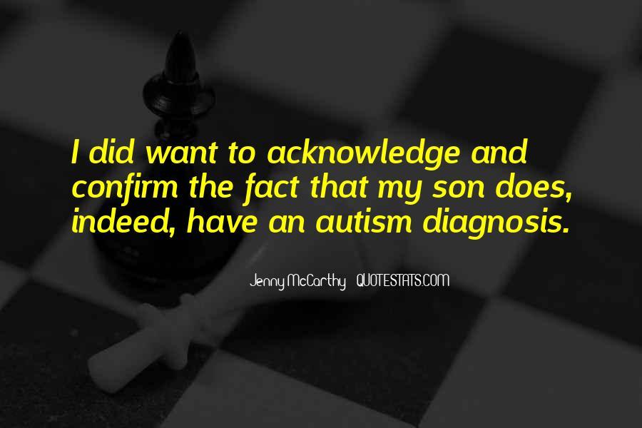 Quotes About Autism Diagnosis #500997