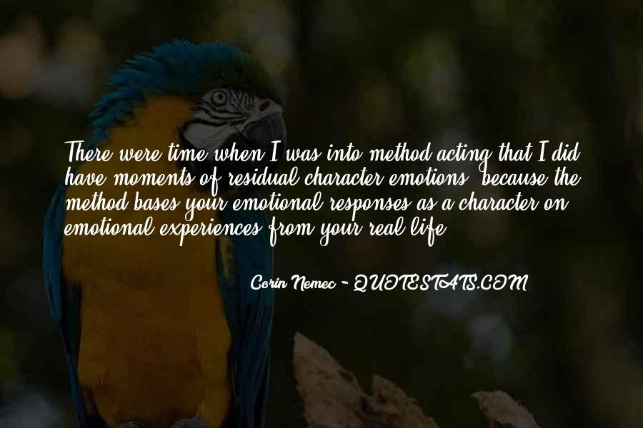 Quotes About Acting On Emotions #102105