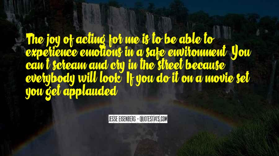 Quotes About Acting On Emotions #1136754