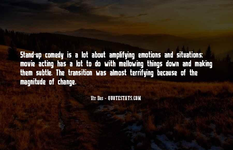 Quotes About Acting On Emotions #1571491