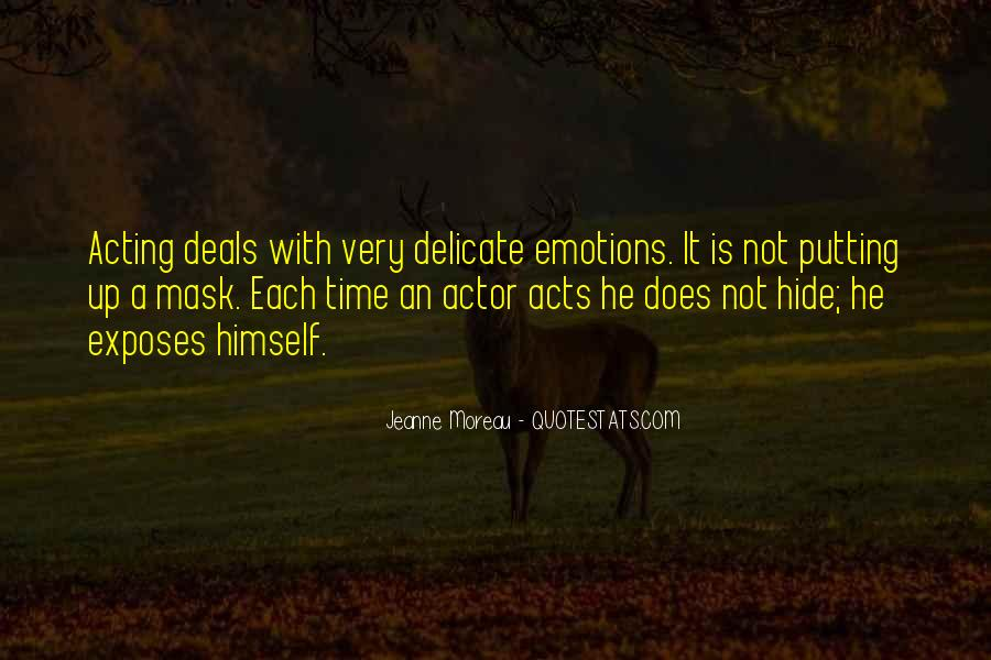 Quotes About Acting On Emotions #169218