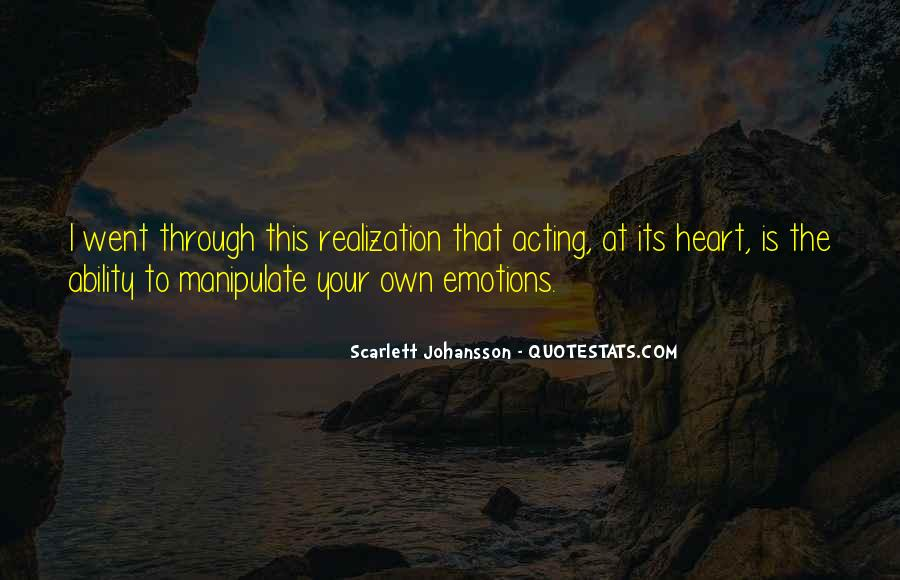 Quotes About Acting On Emotions #633616