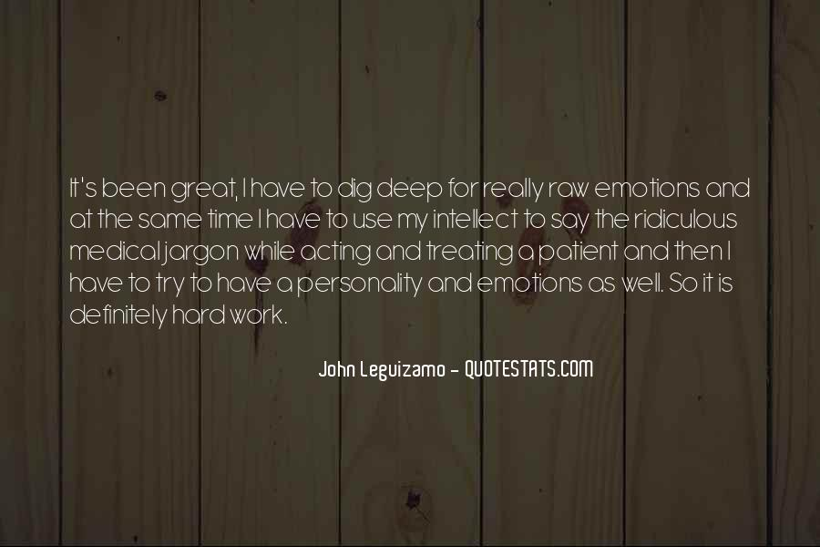 Quotes About Acting On Emotions #761503