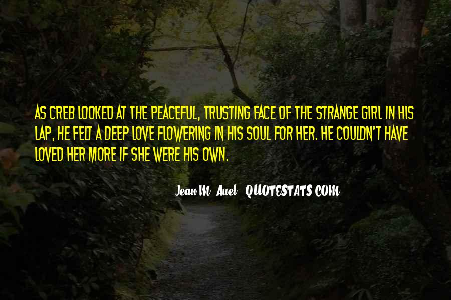 Quotes About Not Trusting Your Love #1058813