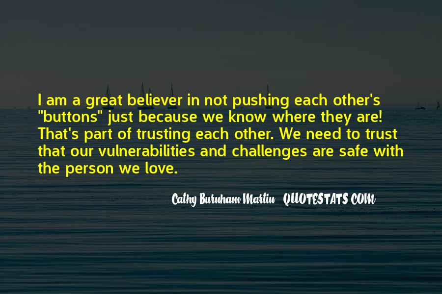 Quotes About Not Trusting Your Love #1435503