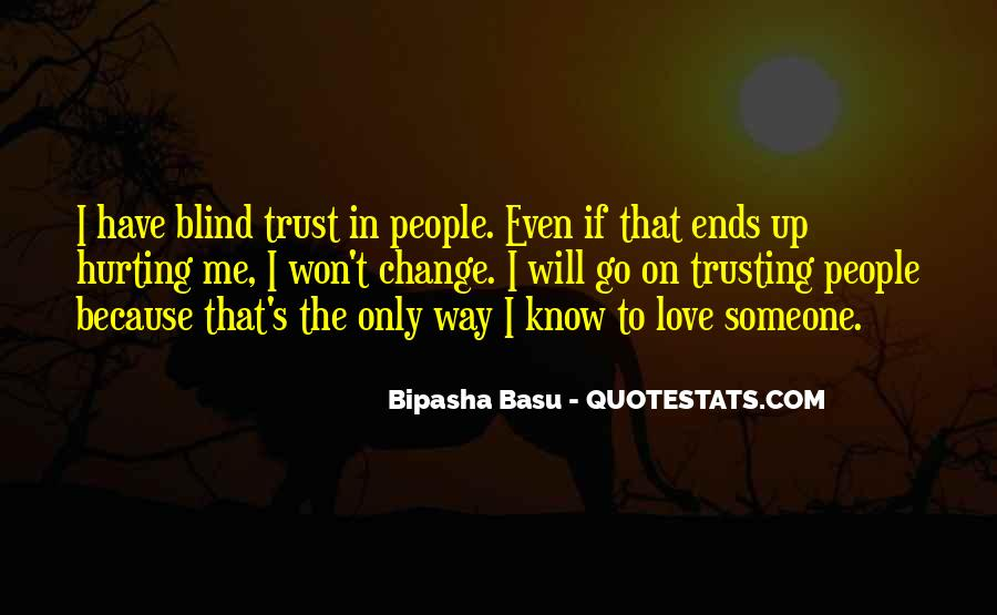 Quotes About Not Trusting Your Love #1649915