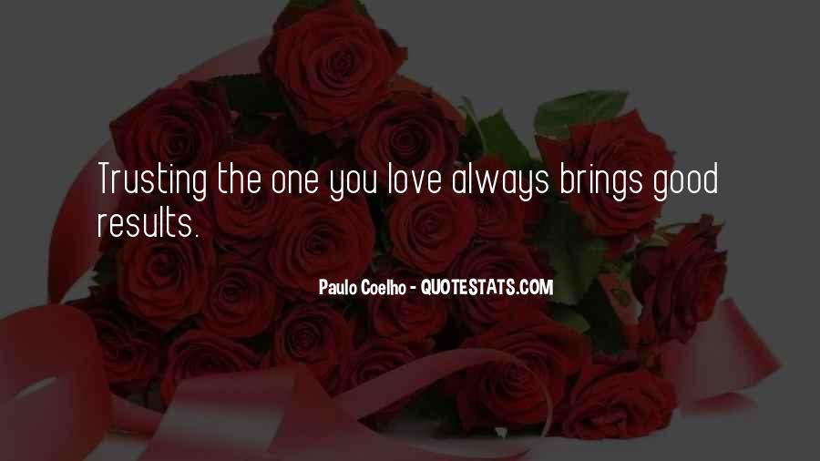 Quotes About Not Trusting Your Love #1659496