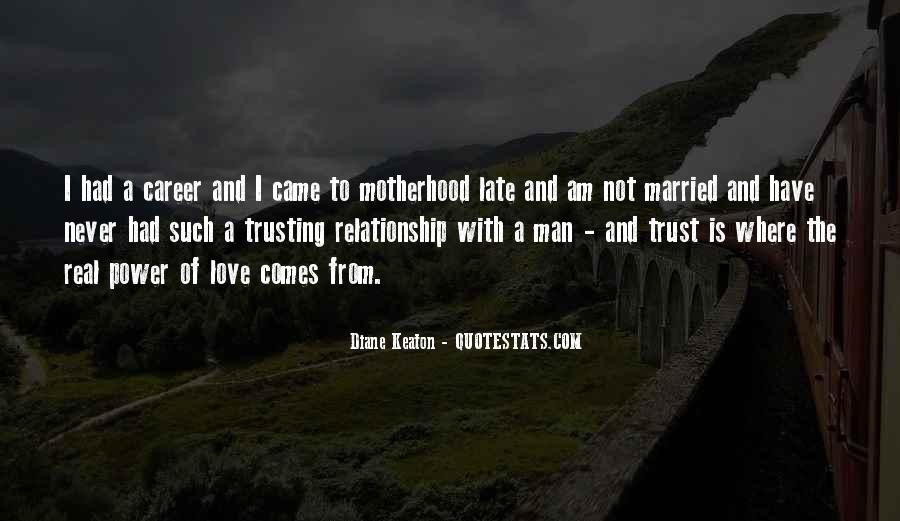 Quotes About Not Trusting Your Love #1720408