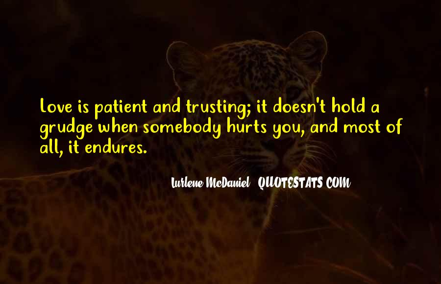 Quotes About Not Trusting Your Love #1722685