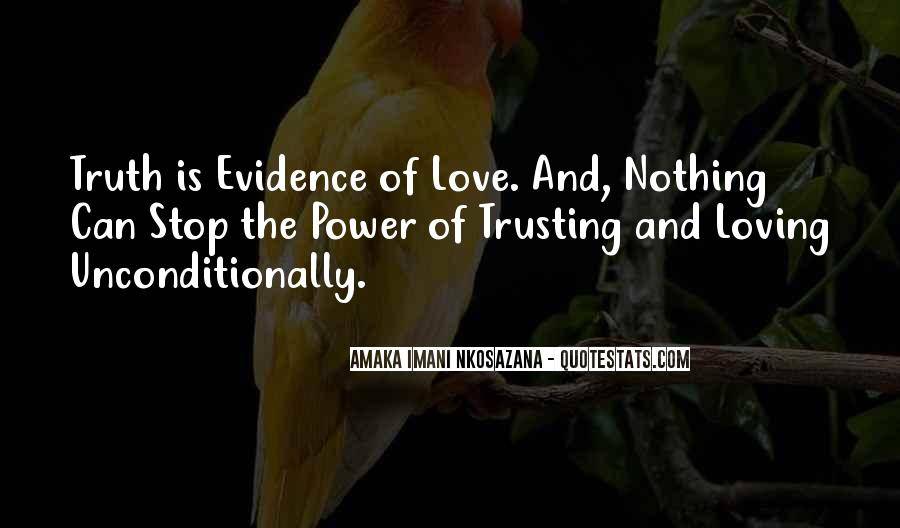 Quotes About Not Trusting Your Love #364966