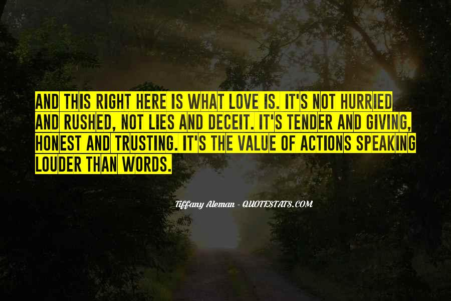 Quotes About Not Trusting Your Love #386381