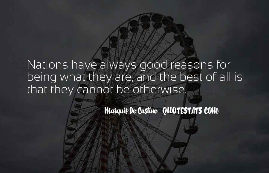 Quotes About Always Being Good #551587