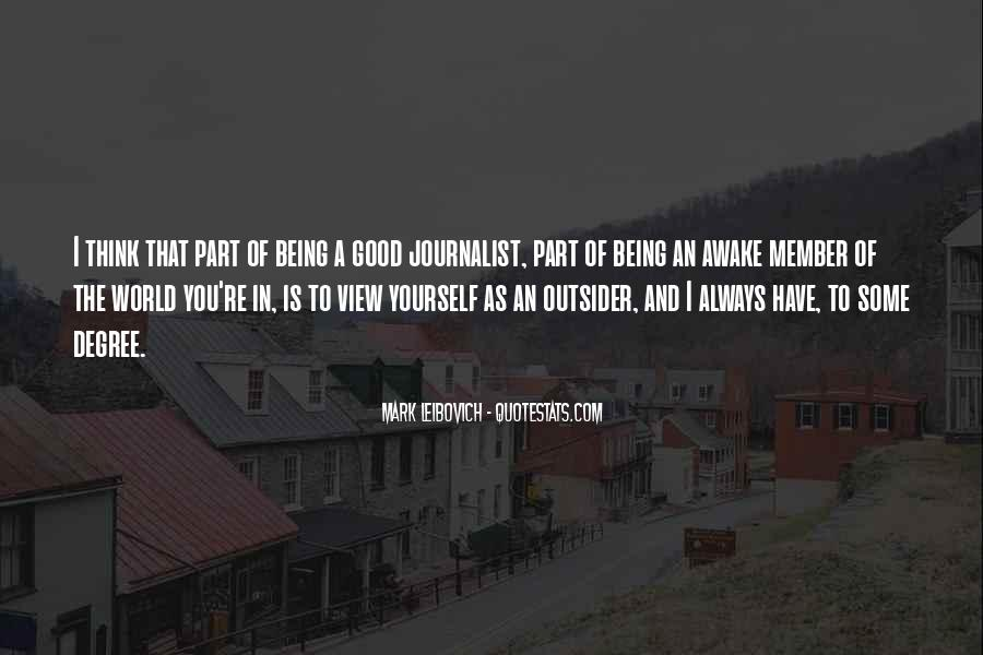 Quotes About Always Being Good #749793