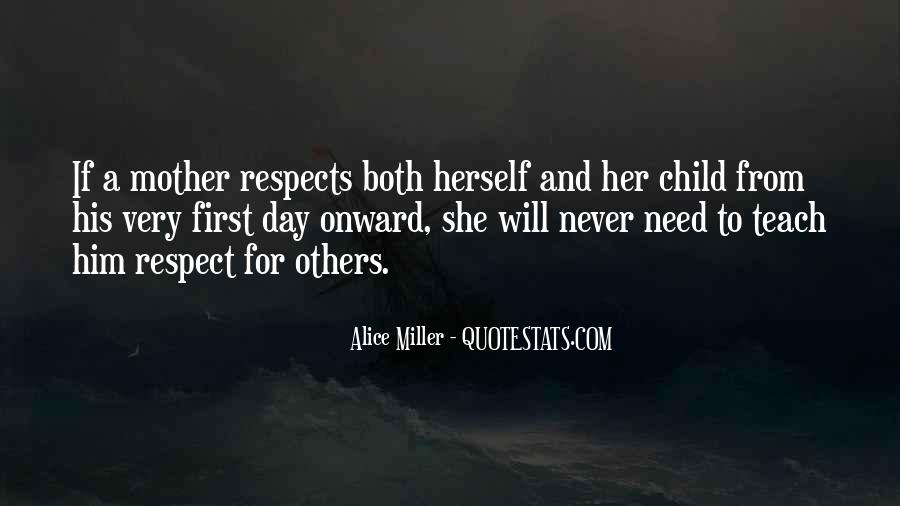 Quotes About Mother And Child #129610