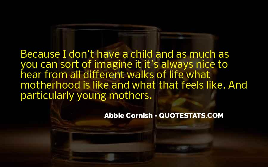 Quotes About Mother And Child #150253