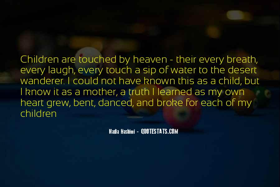 Quotes About Mother And Child #18669