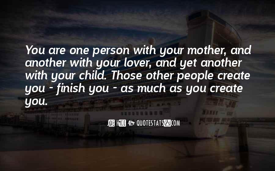 Quotes About Mother And Child #204640