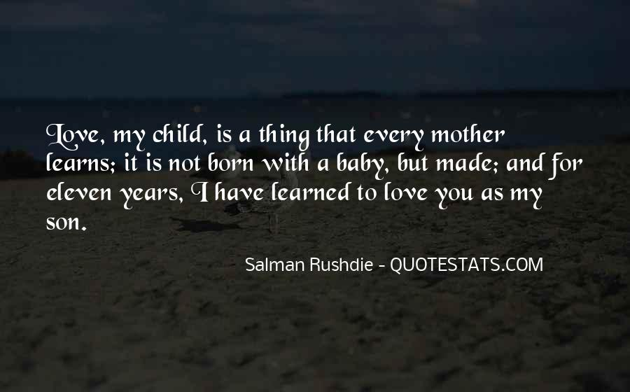 Quotes About Mother And Child #350926