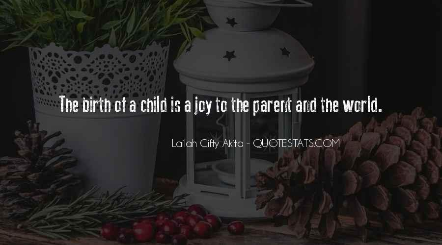 Quotes About Mother And Child #5448