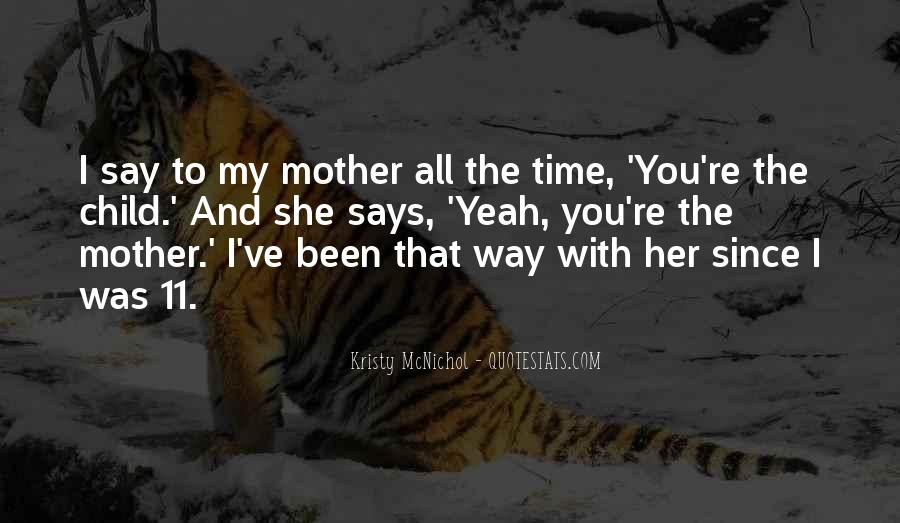 Quotes About Mother And Child #58650