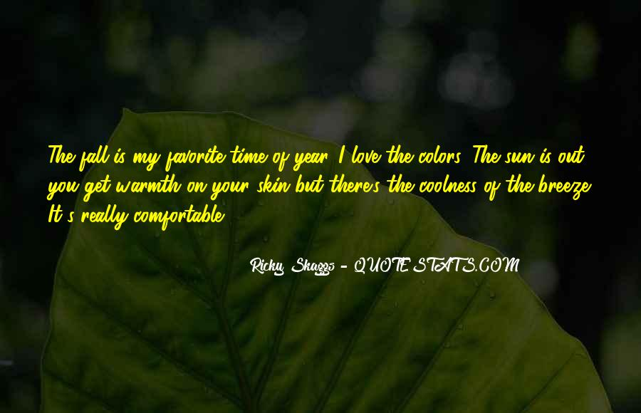 Quotes About Colors Of Fall #245280