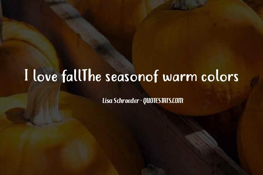 Quotes About Colors Of Fall #323873