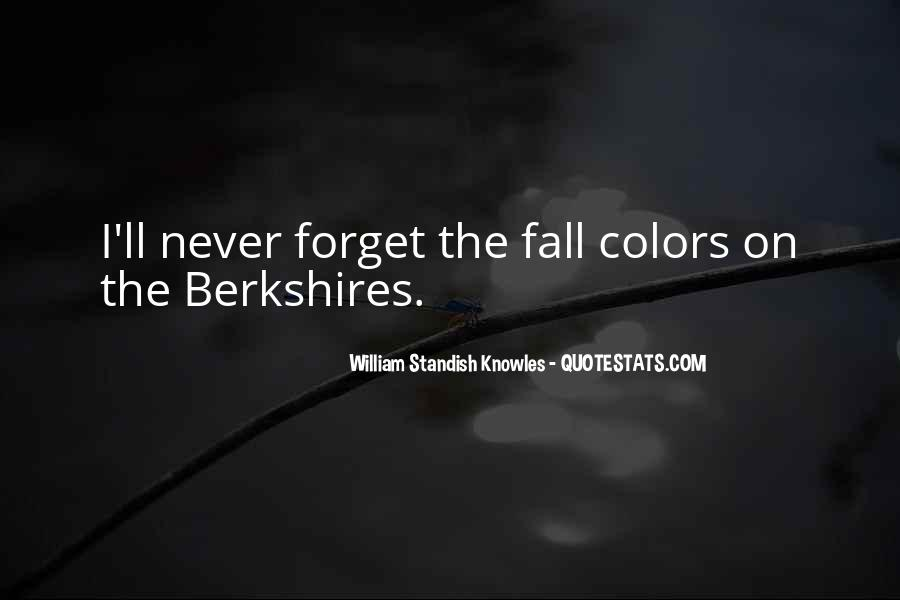 Quotes About Colors Of Fall #652323
