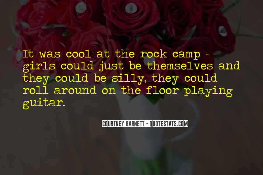 Quotes About Girl Playing Guitar #149776