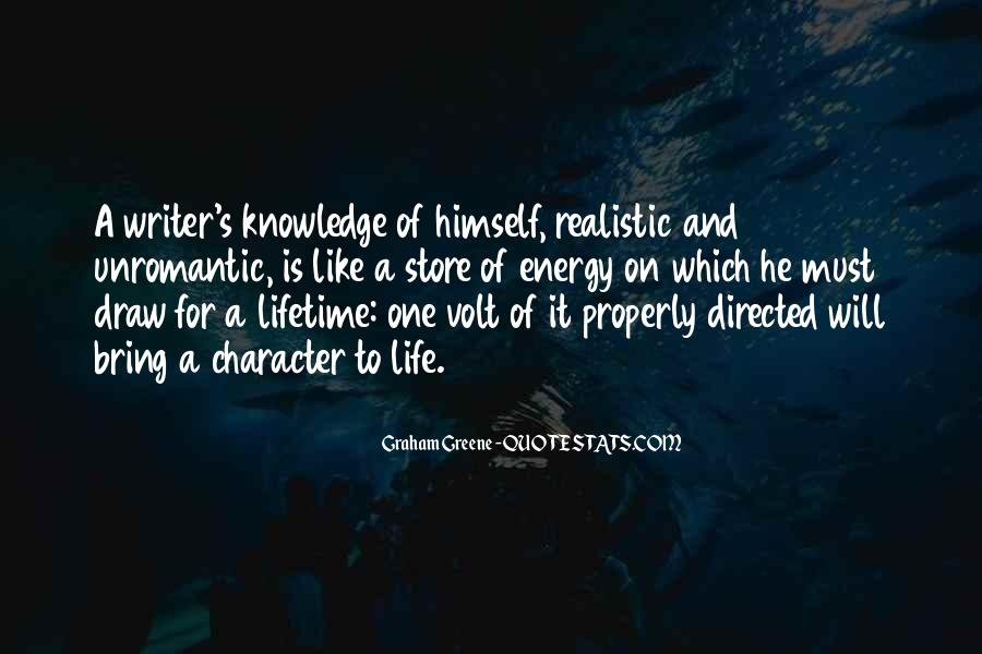 Quotes About Character And Knowledge #247650