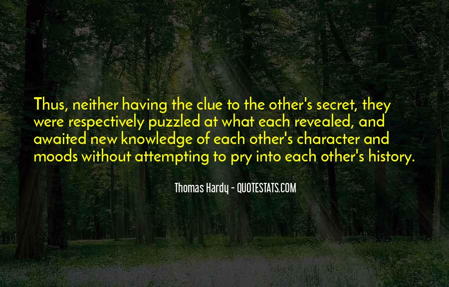 Quotes About Character And Knowledge #423679