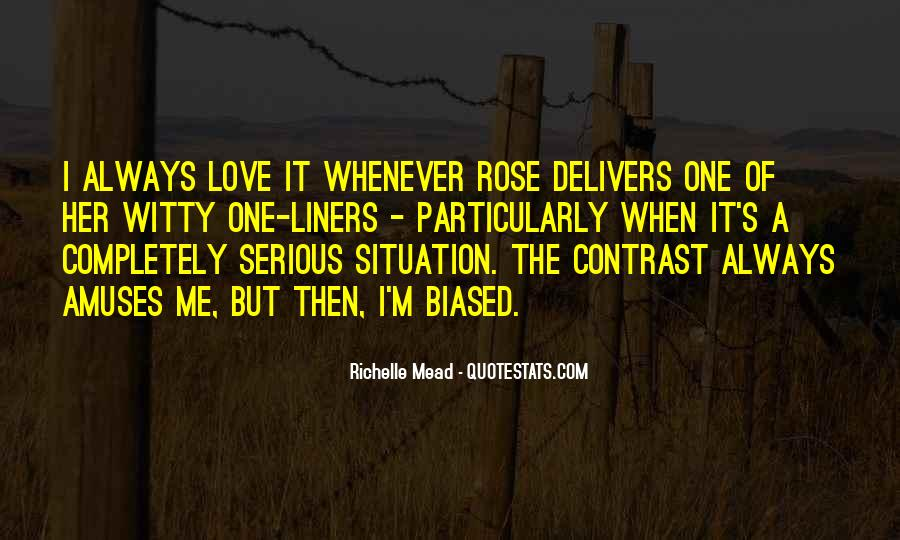 Quotes About Love One Liners #172374