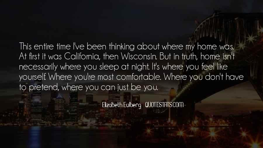 Quotes About Can't Sleep Thinking About You #660600