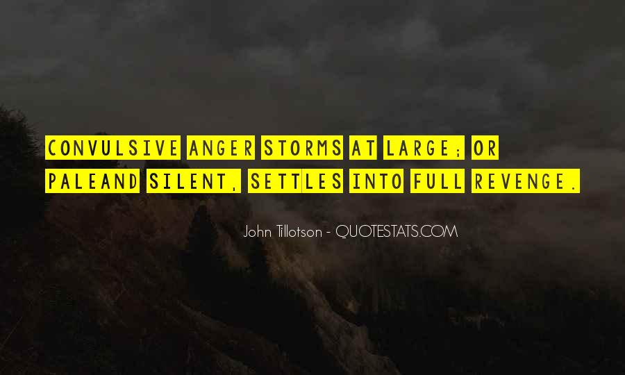 Quotes About Silent Revenge #918519