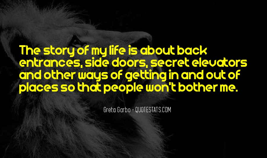 Quotes About Other Side Of The Story #149388