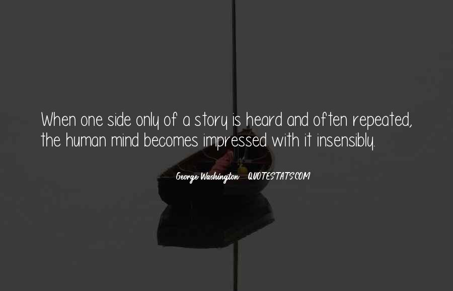 Quotes About Other Side Of The Story #208419